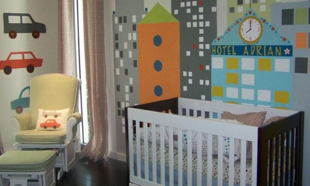 Dečija soba u retro ruhu