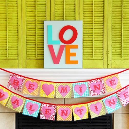 Dekoracija dnevne sobe za Dan zaljubljenih slika 10