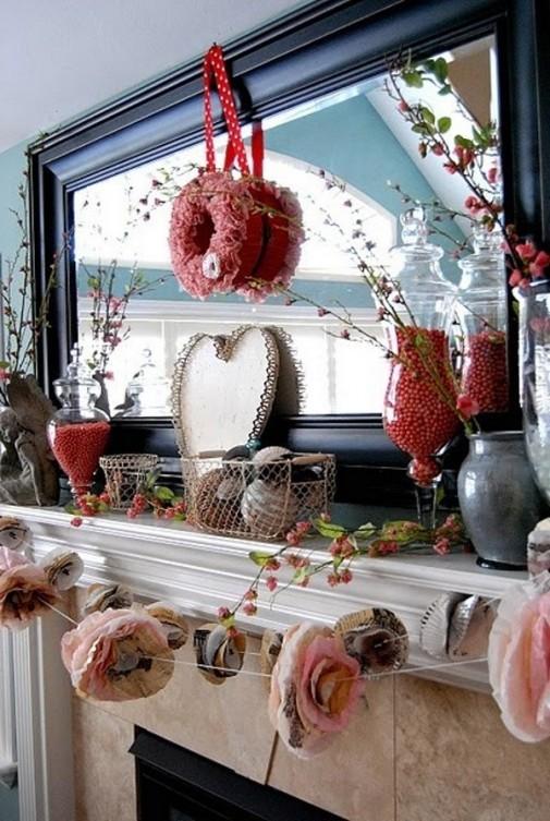 Dekoracija dnevne sobe za Dan zaljubljenih slika 2