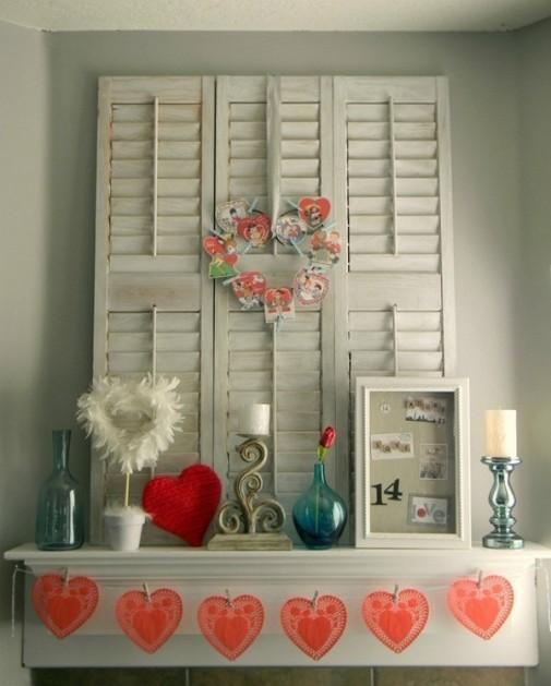 Dekoracija dnevne sobe za Dan zaljubljenih slika 3