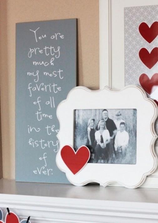 Dekoracija dnevne sobe za Dan zaljubljenih slika 6