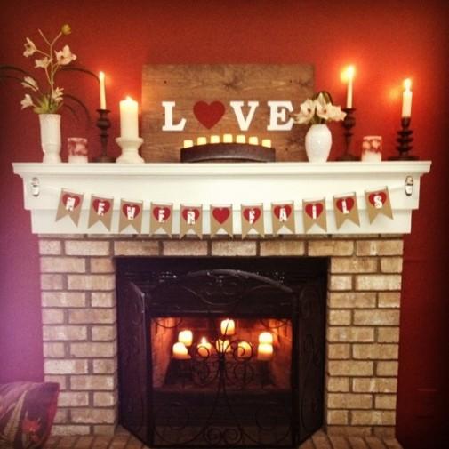 Dekoracija dnevne sobe za Dan zaljubljenih slika 7