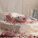 Dekoracija za Dan zaljubljenih spavaća soba