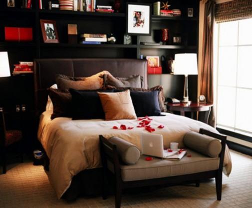 Dekoracija za Dan zaljubljenih spavaća soba slika 4