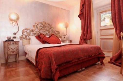 Dekoracija za Dan zaljubljenih spavaća soba slika 5