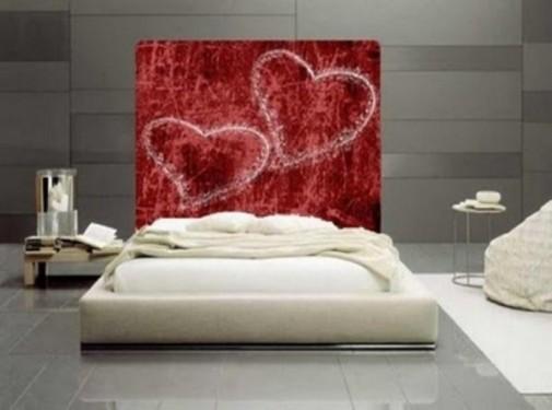 Dekoracija za Dan zaljubljenih spavaća soba slika 6