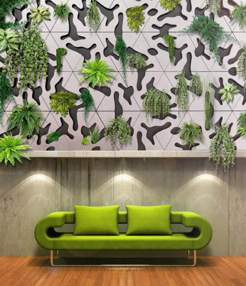 Deltaflore zeleni zid slika 2