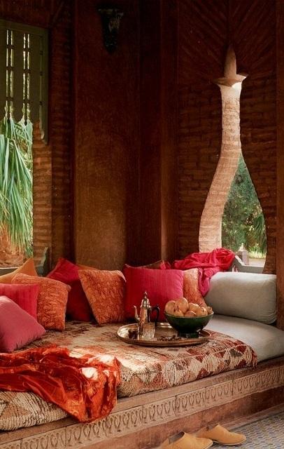Dnevna soba u marokanskom stilu slika 3