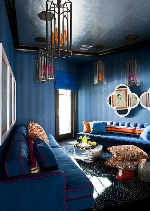 Dnevna soba u marokanskom stilu slika 4