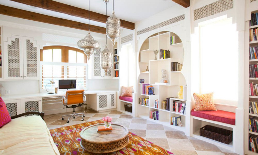 Dnevna soba u marokanskom stilu