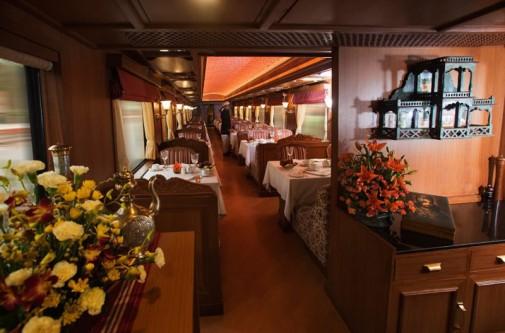Enterijer luksuznog voza