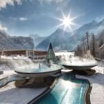 Impresivna termalna banja u planinama Austrije