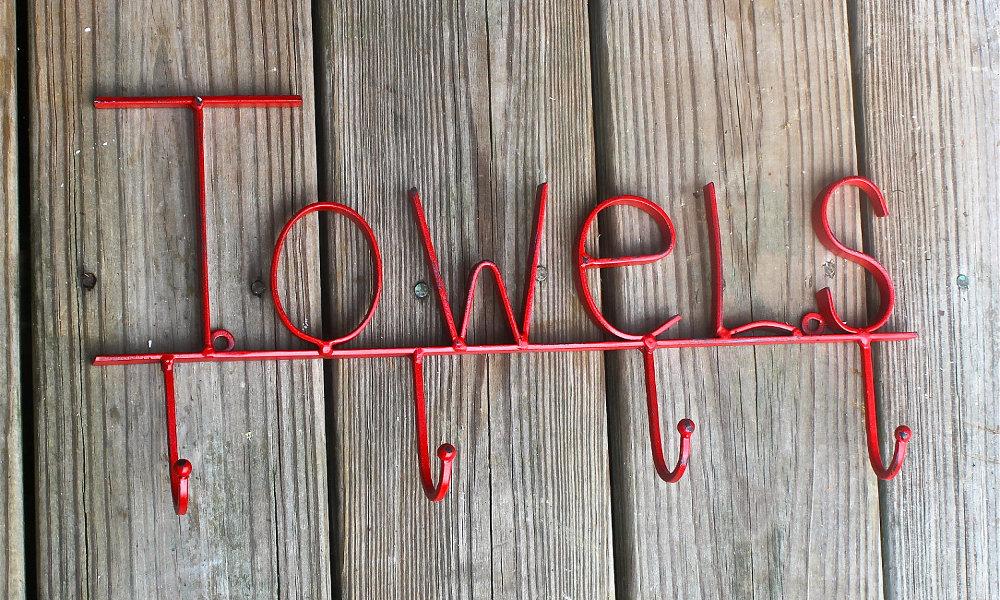 Izlaganje peškira u kupatilu
