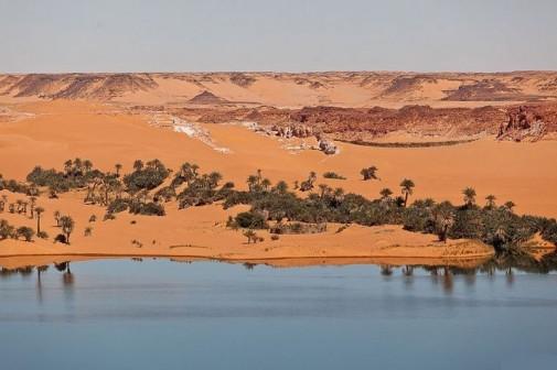Jezera  Ounianga u Sahari slika2