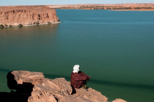 Jezera  Ounianga u Sahari slika4