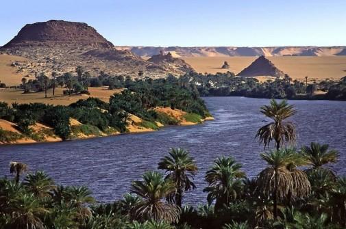 Jezera  Ounianga u Sahari slika5