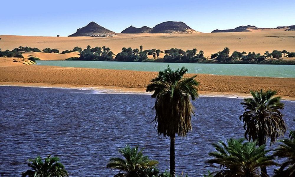 Jezera Ounianga u Sahari