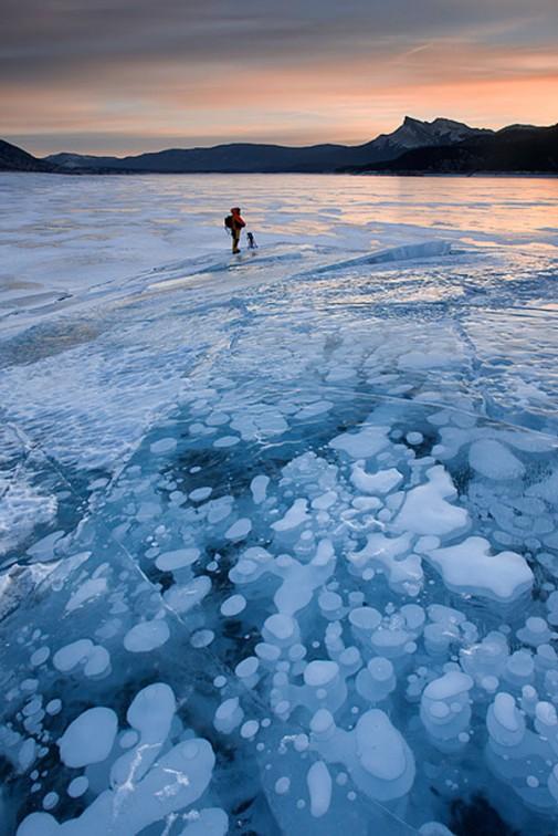 Jezero Abraham u Kanadi slika 2