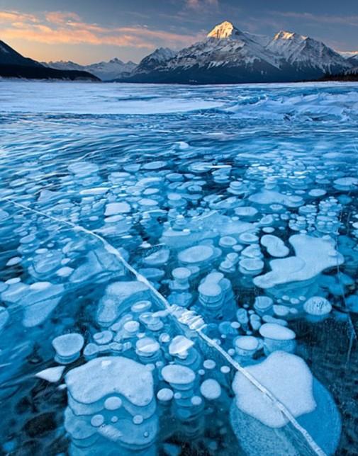 Jezero Abraham u Kanadi slika 4