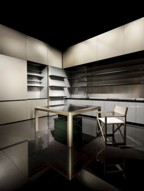 Kuhinja koju je dizajnirao Đorđo Armani slika4