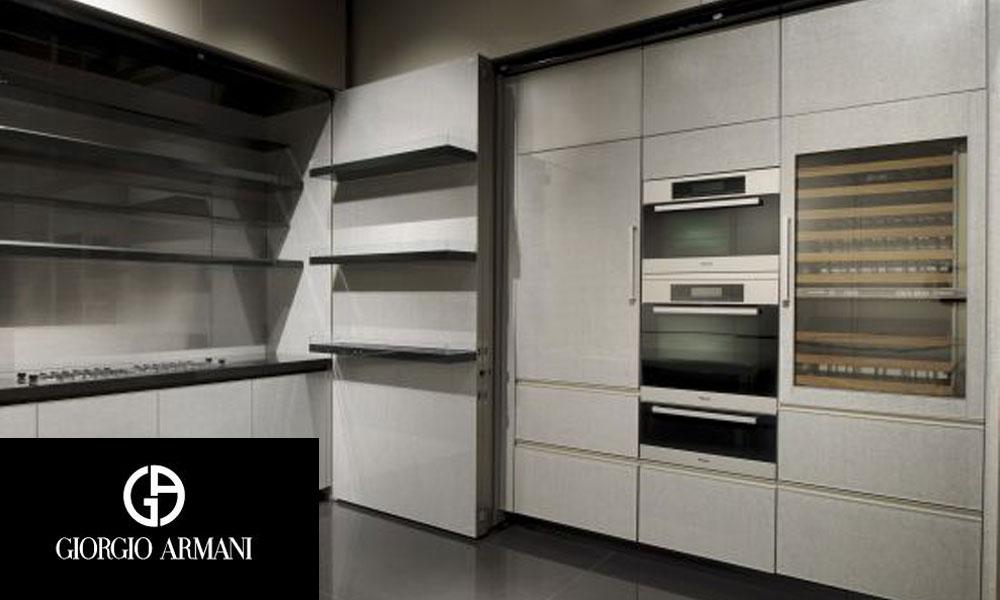 Kuhinja koju je dizajnirao Đorđo Armani