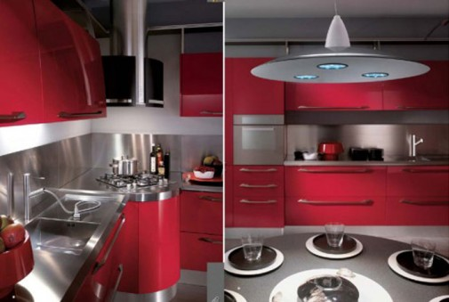 Kuhinje u boji matiranog aluminijuma slika3