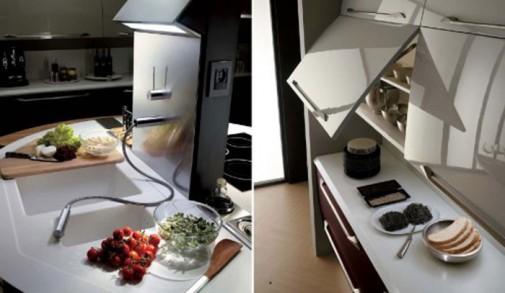 Kuhinje u boji matiranog aluminijuma slika5