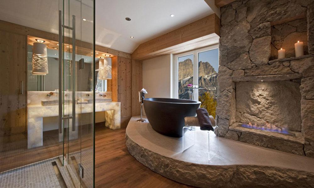 Kupatilo sa kaminom