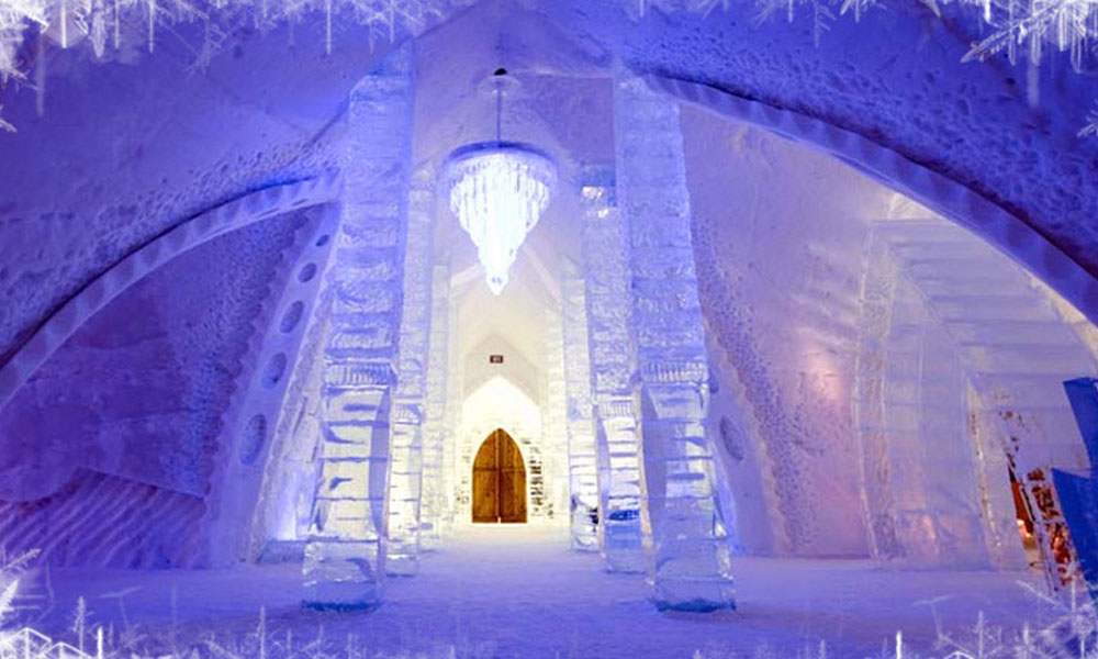 Ledeni hotel u Švedskoj