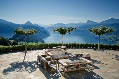 Lluksuzni hotel u švajcarskim Alpima slika2