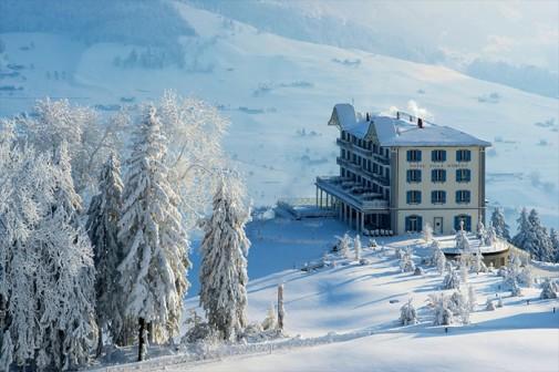 Lluksuzni hotel u švajcarskim Alpima slika3