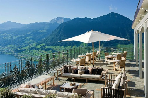 Lluksuzni hotel u švajcarskim Alpima slika6