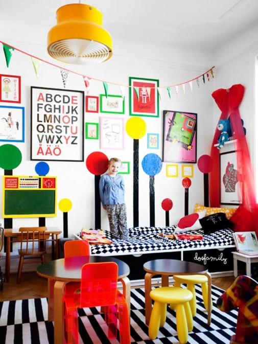 Moderna dečija soba slika6