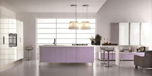 Moderna kuhinja u pastelnim pink i ljubicastim tonovima slika5
