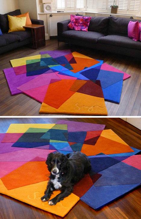 Moderni šareni tepisi slika 8