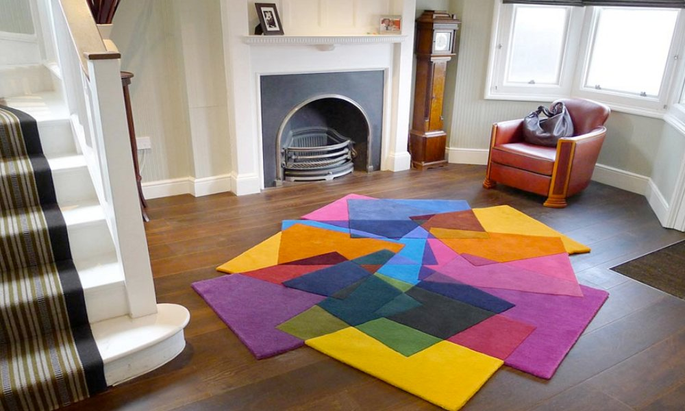 Moderni šareni tepisi