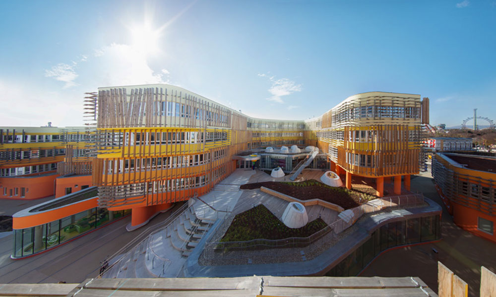 Nove zvezde kampusa Bečkog univerziteta