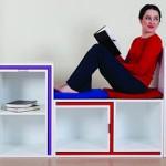 Pametna polica za knjige i – nameštaj