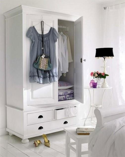 Pametne ideje za odlaganje stvari u spavaćoj sobi slika3