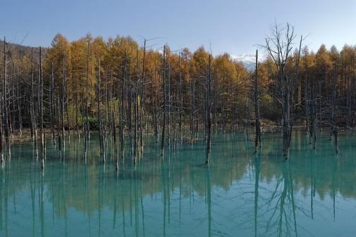 Plavo jezero Japan slika 10