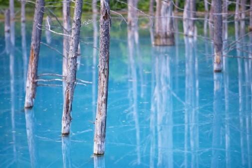 Plavo jezero Japan slika 6