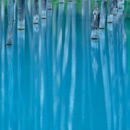 Plavo jezero Japan slika 7