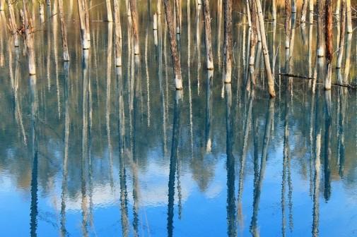 Plavo jezero Japan slika 8