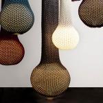 Pletene moderne lampe