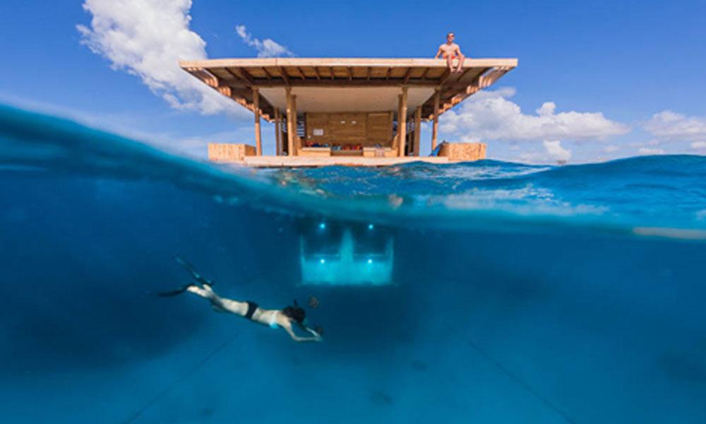 Podvodna hotelska soba