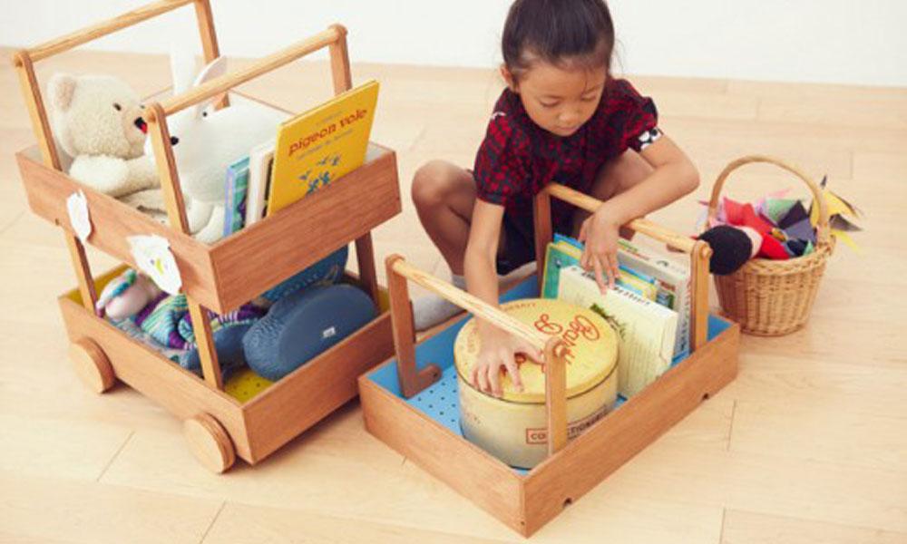 Prikolica za sklanjanje dečijih igračaka