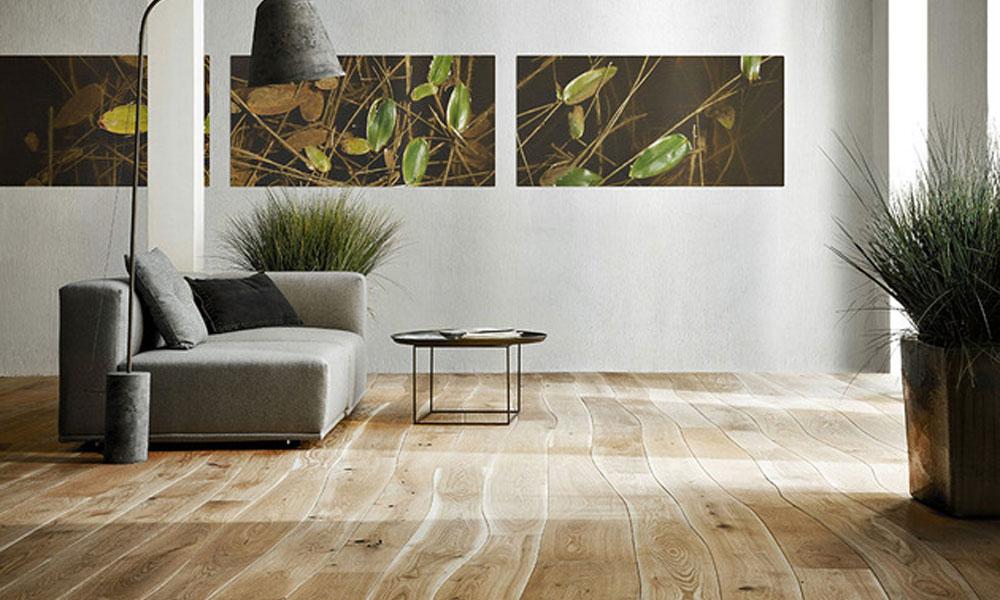 Prirodno zakrivljeni Bolefloor drveni podovi