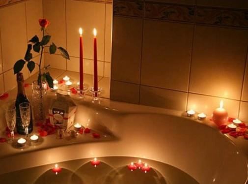 Romantika u kupatilu slika 7