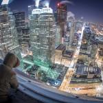 Sa vrha nebodera smrznutog Toronta