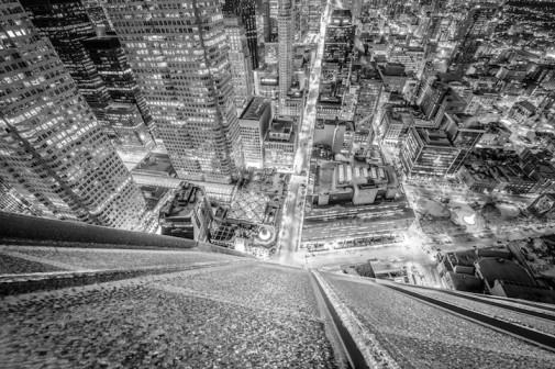 Sa vrha nebodera smrznutog Toronta slika 5